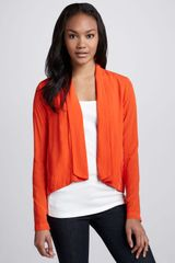 Splendid Draped Open Blazer - Lyst