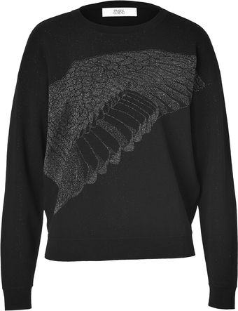Prabal Gurung Cozy Lurex Knit Top - Lyst