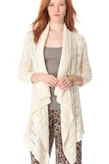 Rachel Zoe Serafina High Low Cardigan - Lyst