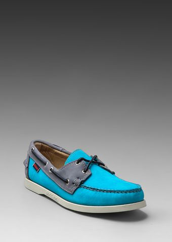 Sebago X Ronnie Fieg Spinnaker in Greyblue - Lyst