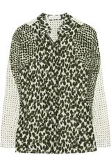 Stella McCartney Printed Silk Shirt - Lyst
