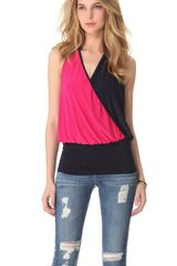 Tbags Los Angeles Halter Neck Top - Lyst