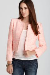 Alice + Olivia Jacket Kidman Open Front Box - Lyst