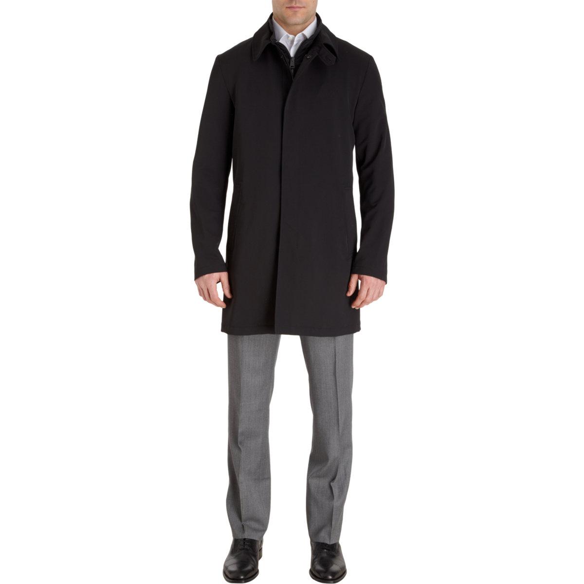 Wool Coat 0003 Mackintosh Black Tailored Noir 0twwx