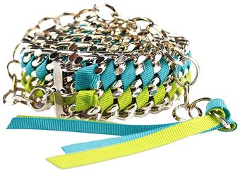 Amen Metal and Grosgrain Belt - Lyst