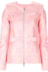 Christopher Kane Fitted Panel Detail Jacket - Lyst