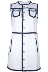 DSquared2 Buttoned Dress - Lyst