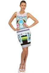 Mary Katrantzou Printed Jersey Dress - Lyst
