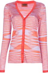 Missoni Abstract Cardigan - Lyst