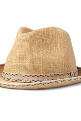 Paul Smith Christys Straw Trilby Hat - Lyst
