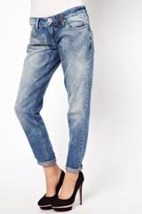 River Island Boyfriend Jean with Star Wash - Lyst