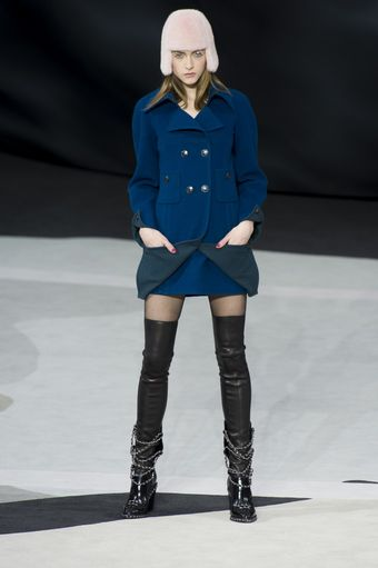 Chanel Fall 2013 Runway Look 11 - Lyst