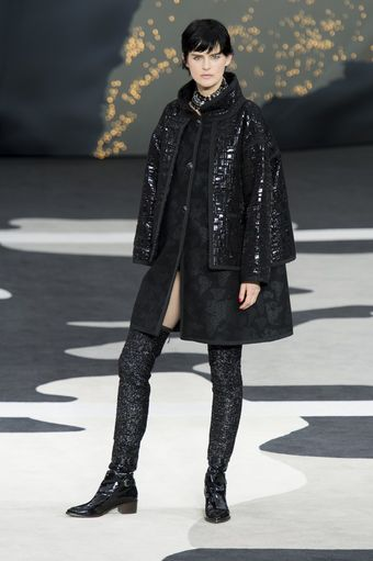 Chanel Fall 2013 Runway Look 13 - Lyst