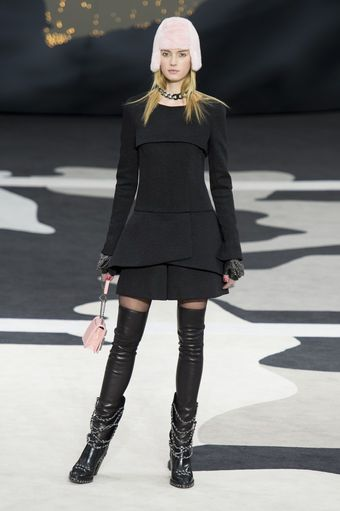 Chanel Fall 2013 Runway Look 66 - Lyst