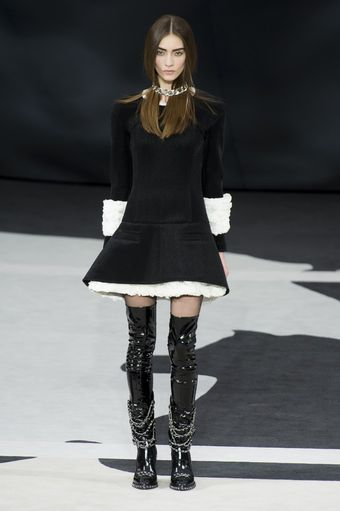 Chanel Fall 2013 Runway Look 69 - Lyst