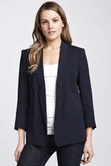 French Connection Connie Relaxed Crepe Blazer - Lyst