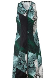 Proenza Schouler Python Printed Cotton Dress - Lyst