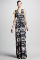 Rachel Pally Long Folkprint Caftan Dress - Lyst