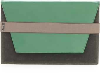 VPL Envelope Clutch - Lyst