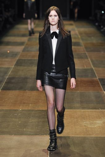 Saint Laurent Fall 2013 Runway Look 20 - Lyst