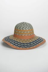 BCBGeneration Pop Stripe Floppy Sun Hat - Lyst