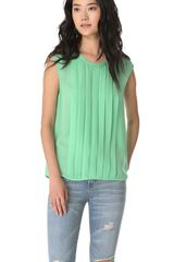 Joie Averlia Silk Top - Lyst