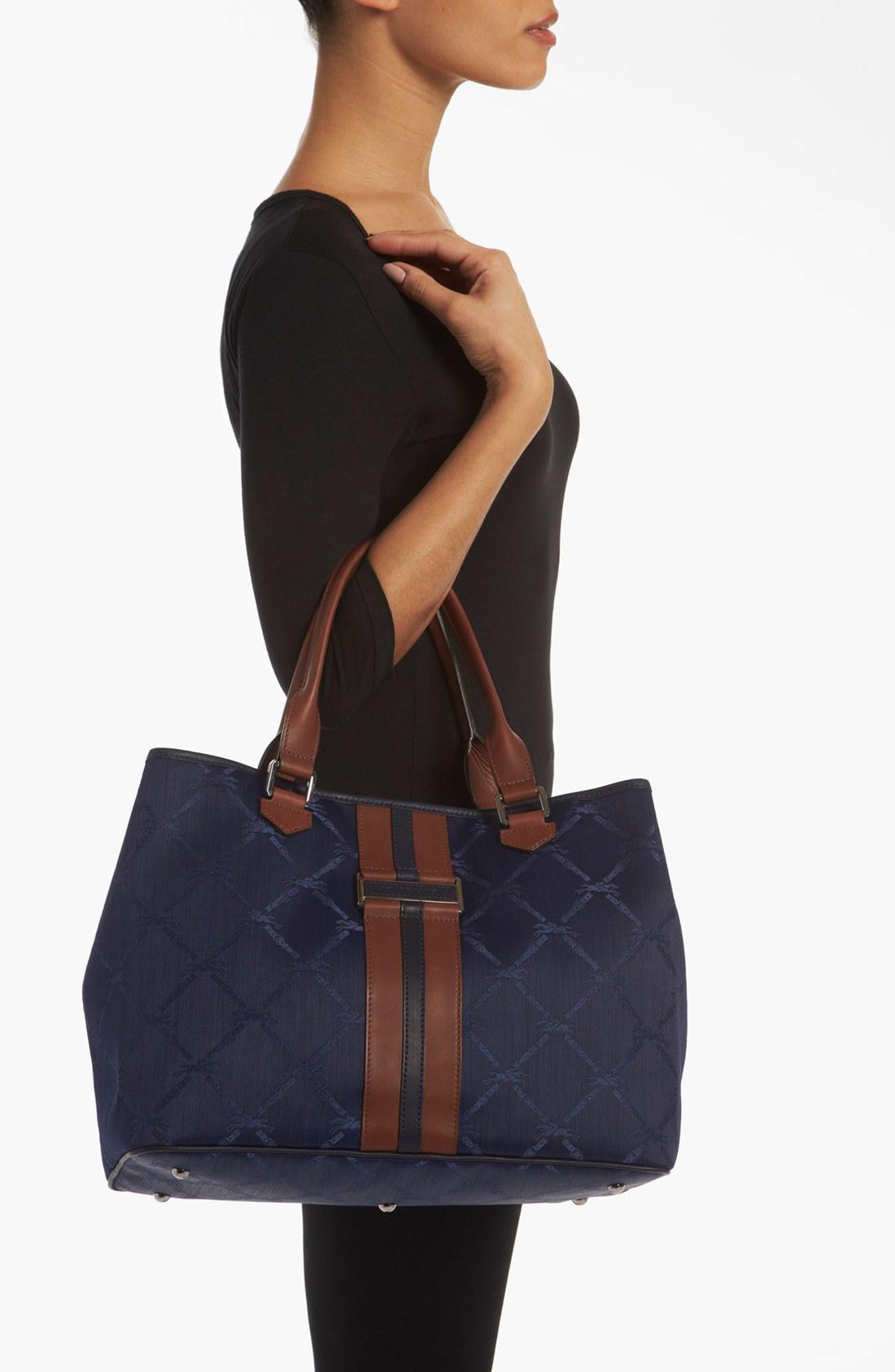 Longchamp Jacquard Bag