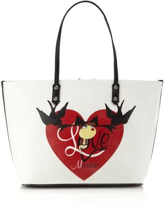 Love Moschino Charming Scarf Tote Bag - Lyst