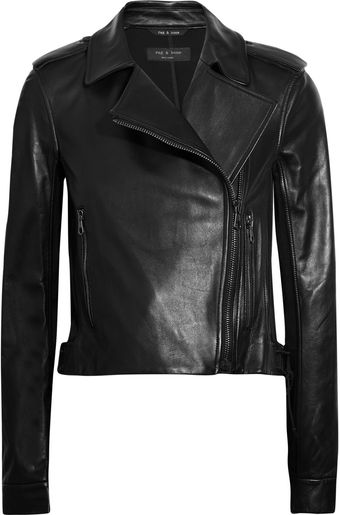 Rag & Bone Langlen Leather Jacket - Lyst