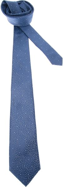 Yves Saint Laurent Printed Tie - Lyst