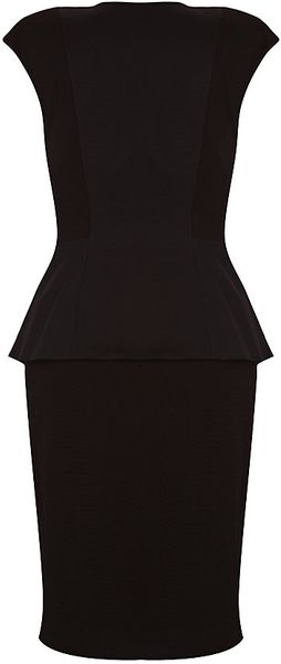 Ted Baker Structured Dress - Lyst