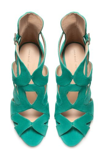 Zara Strappy Highheel Sandals - Lyst