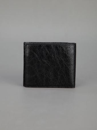 Balenciaga Leather Billfold Wallet - Lyst