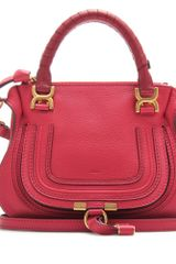 Chloé Baby Marcie Leather Handbag - Lyst