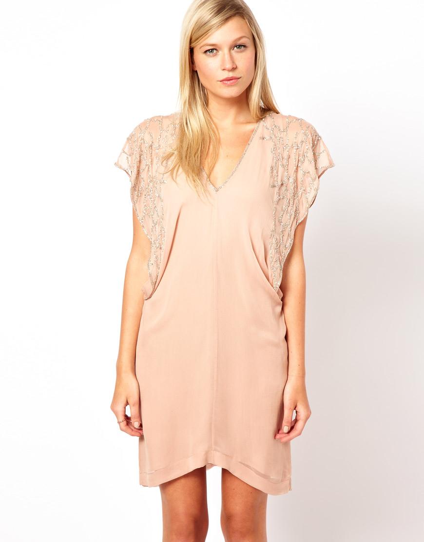 f11626c3cc74d4 French Connection Dreamscape Silk T Shirt Dress - Cotswold Hire
