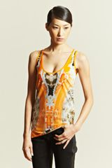 Givenchy Printed Vest Top - Lyst