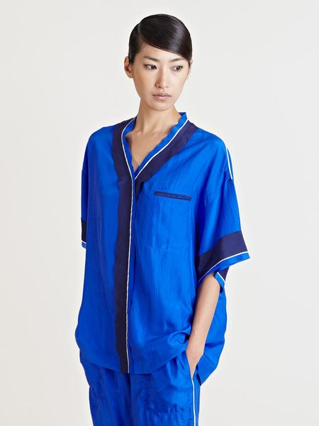Lanvin Haut Top in Blue - Lyst