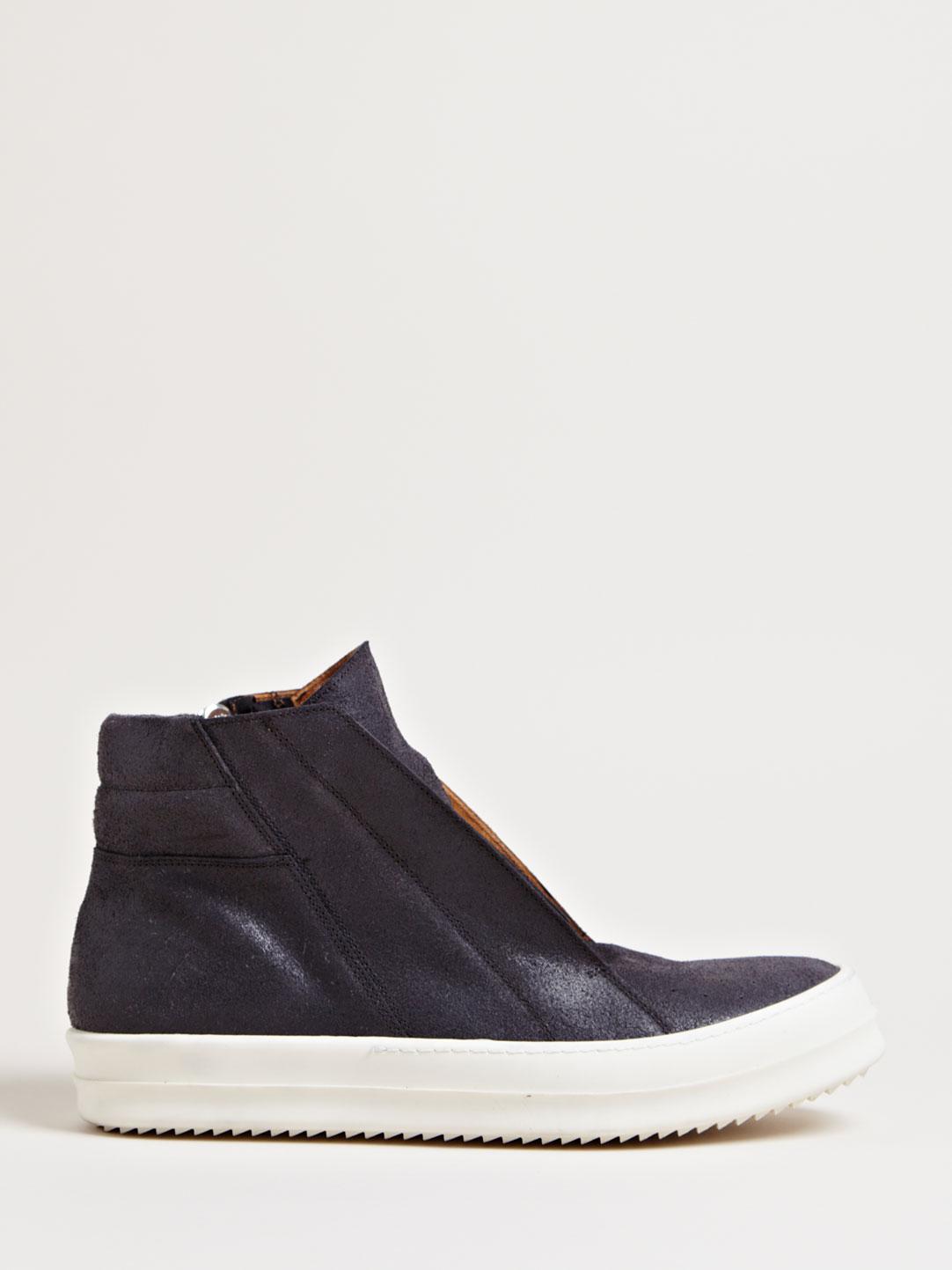 rick owens mens geobasket sneakers in for black lyst
