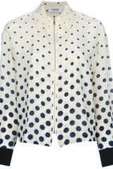 Sonia By Sonia Rykiel Dot Blouse - Lyst