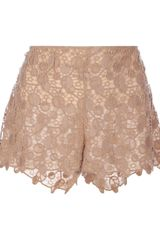Versace Patterned Lace Shorts