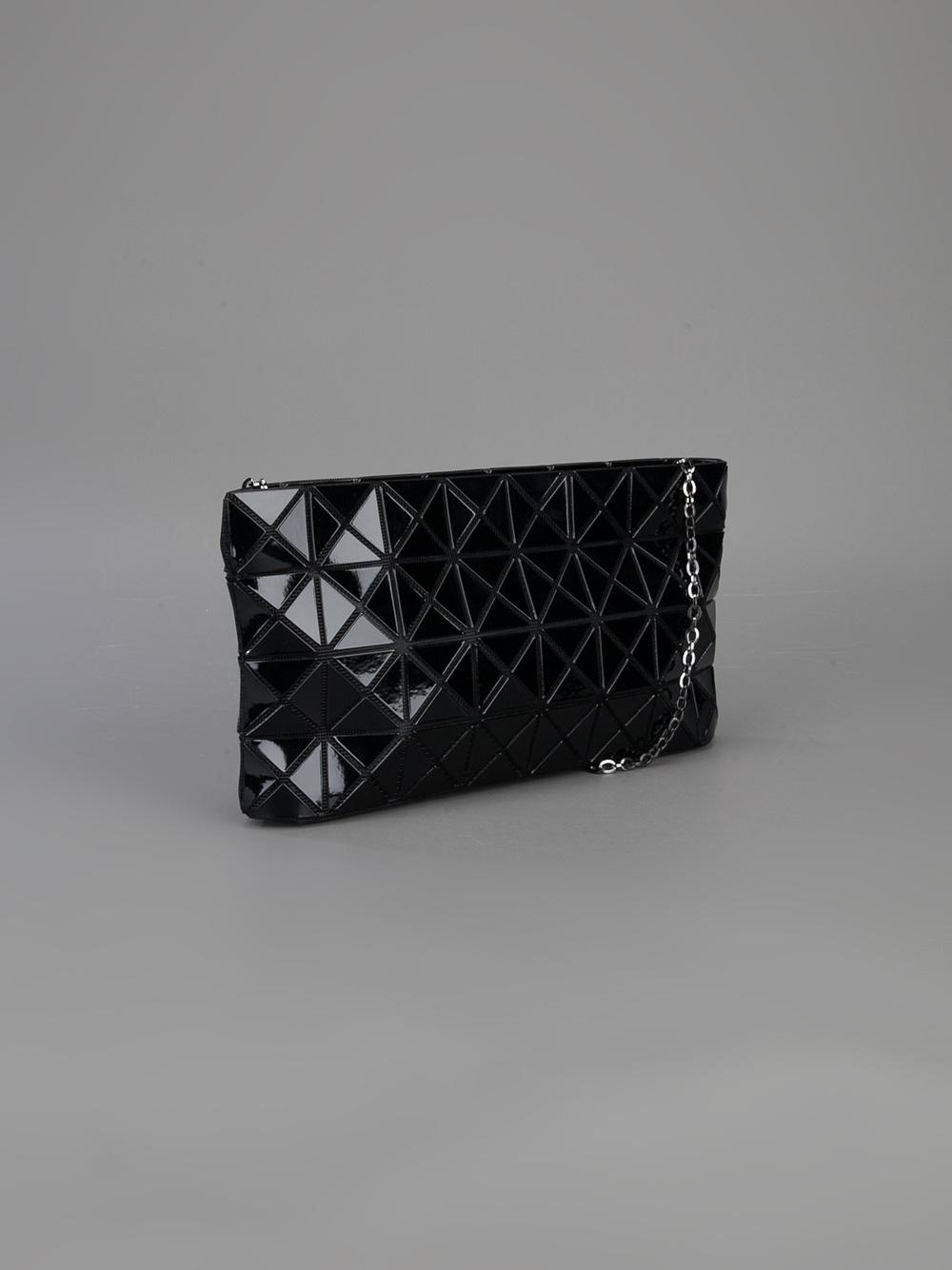 fe196094905 ... Bao Bao Issey Miyake Geometric Clutch Bag in Black - Lyst online store  70ffb 0d74a ...