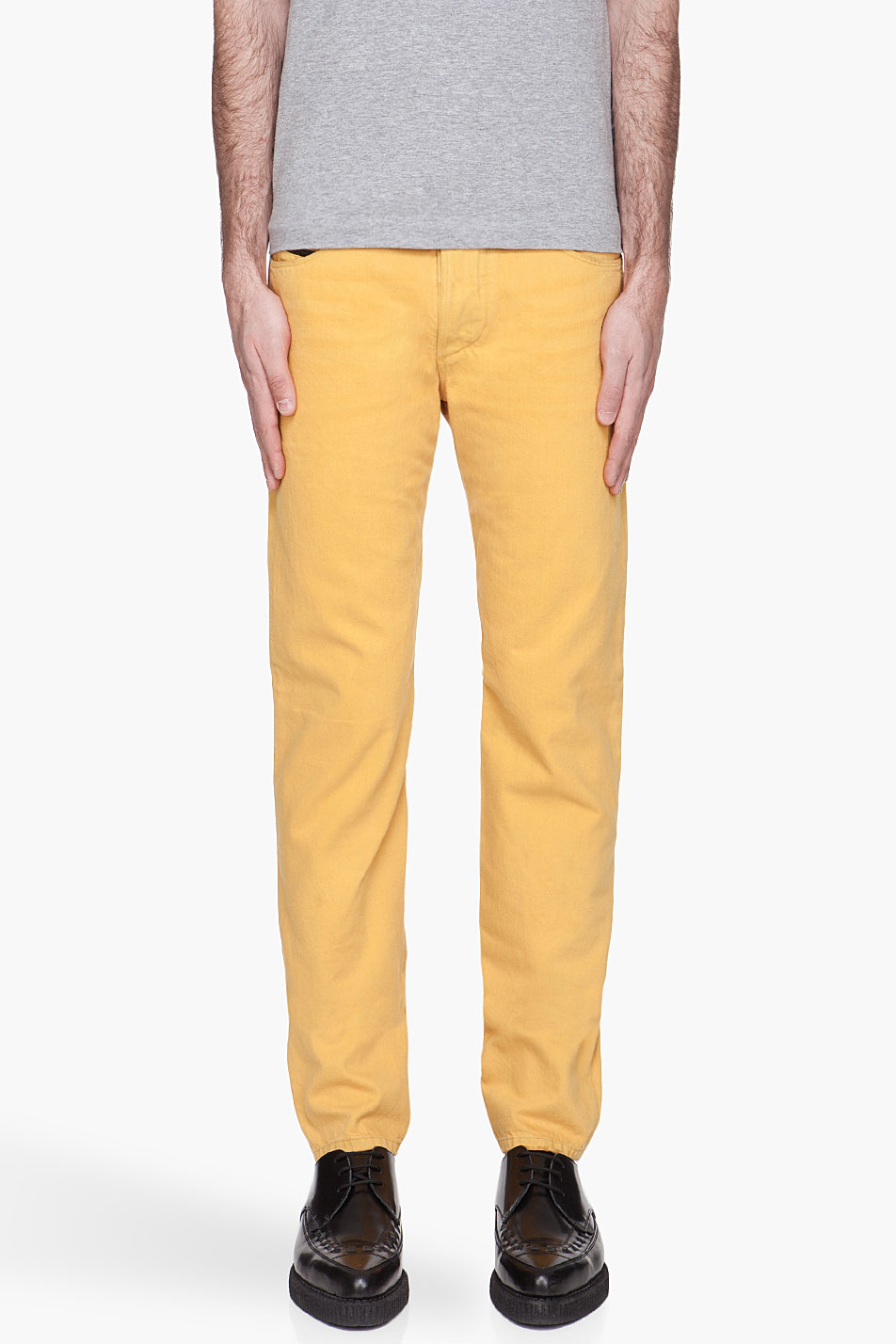 Diesel Black Gold Superbianp Jeans in Yellow for Men | Lyst