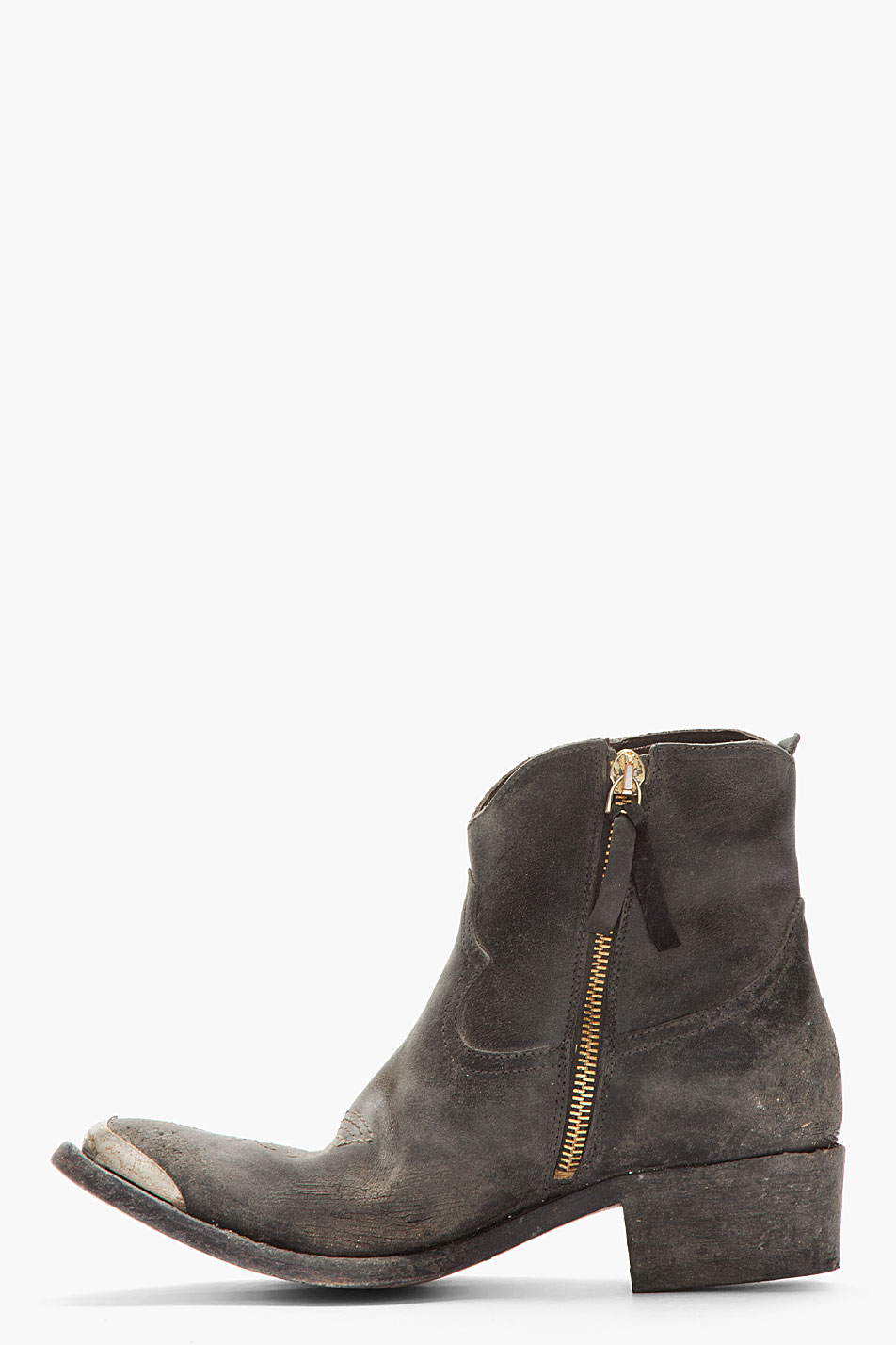 Golden Goose Leather Boots Best Store To Get For Sale Discount Store Sale Wide Range Of RefLxXkF