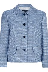 Marc By Marc Jacobs Cropped Jacket - Lyst