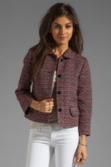 Marc By Marc Jacobs Miranda Tweed Jacket - Lyst