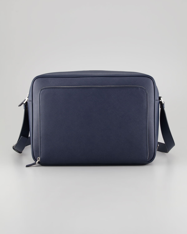 prada tessuto vernice handbag - prada navy bag