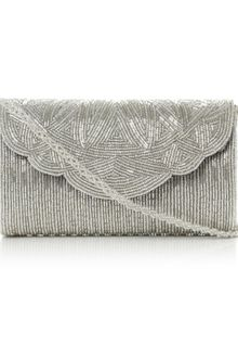 Dune Egical Cylinder Beaded Clutch Bag - Lyst