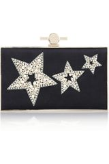 Jason Wu Karlie Pearl and Crystal Embellished Box Clutch - Lyst
