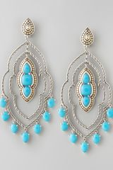 John Hardy Batu Dot Morocco Chandelier Earrings - Lyst