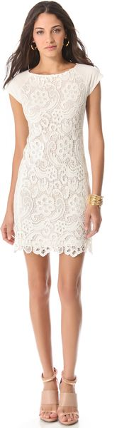 Rebecca Taylor Ali Lace Dress - Lyst